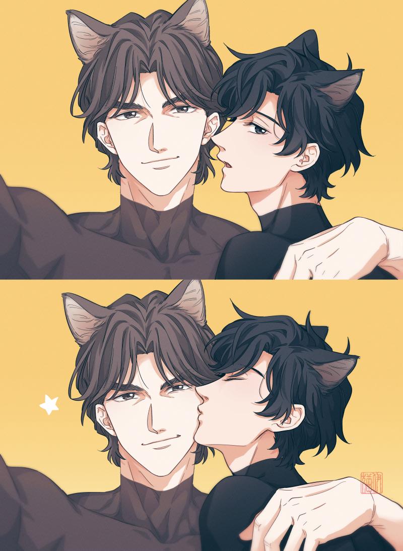 先杨 得意猫猫